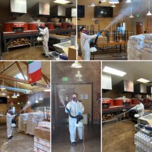 coronavirus disinfecting services chicago